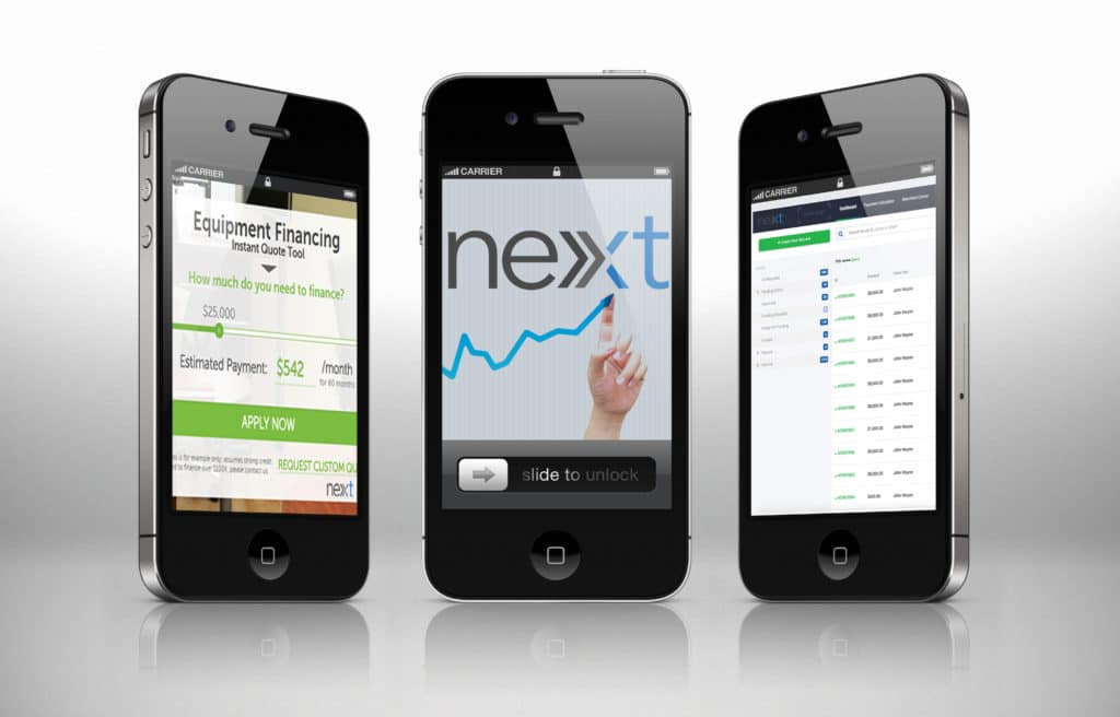 Next-Financing Mobile Access