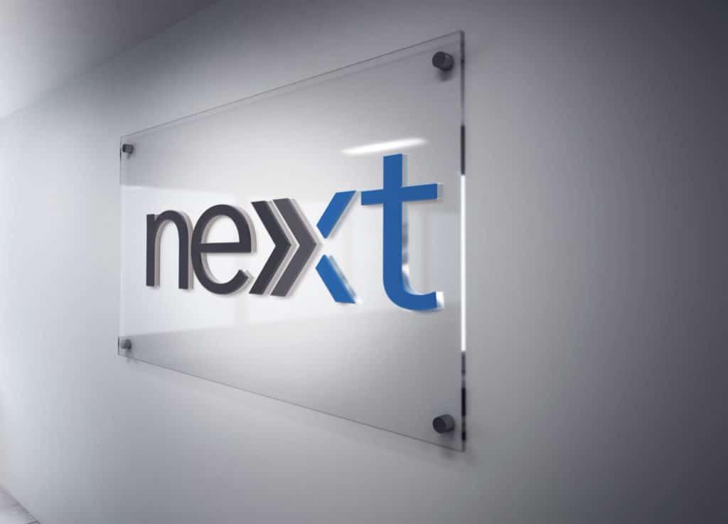 Next-Financing Signage
